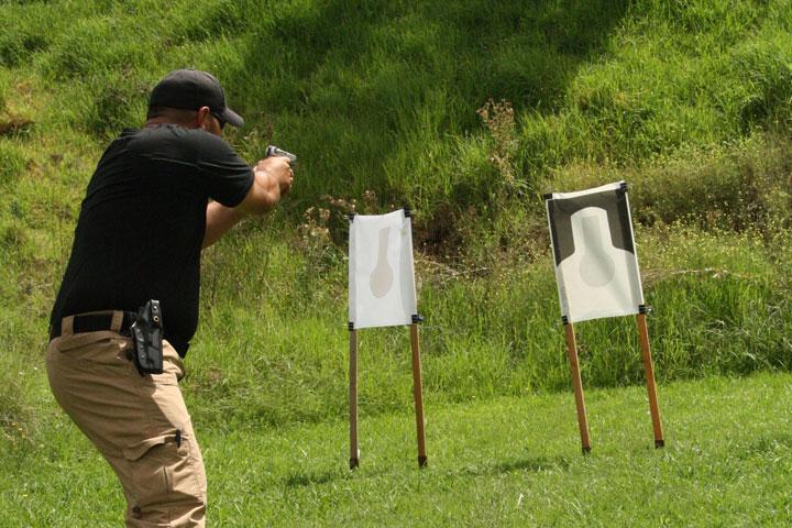 weapons training at blacktown range