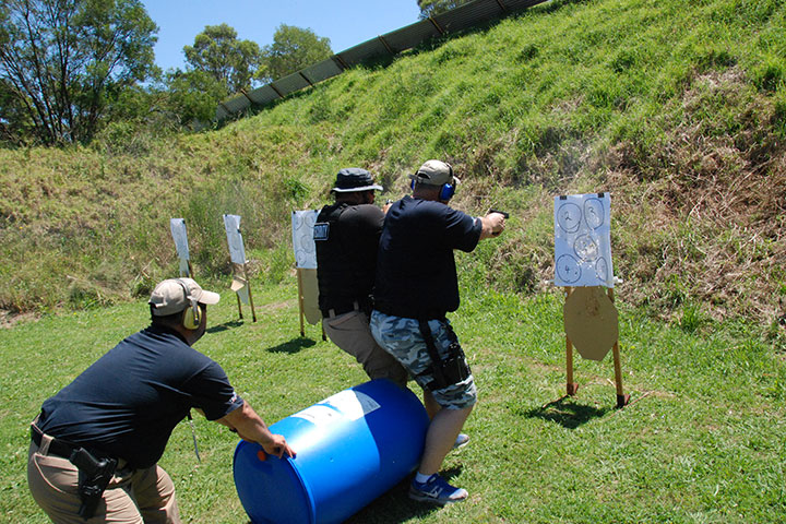 weapons training target practice
